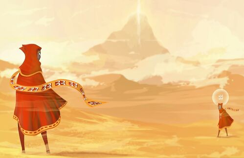 "Aus ""The Journey"" von ""thatgamecompany""."